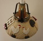 Fönsterlampa-Hönor