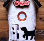 Ringklocka-Hund och aprikosa blommor