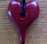 Nyckelring röd