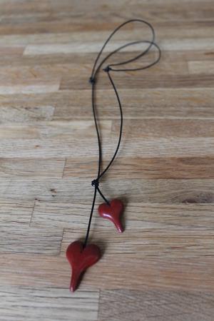 Halsband - rött