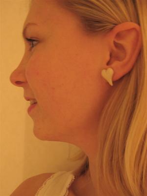 Örhänge - vita