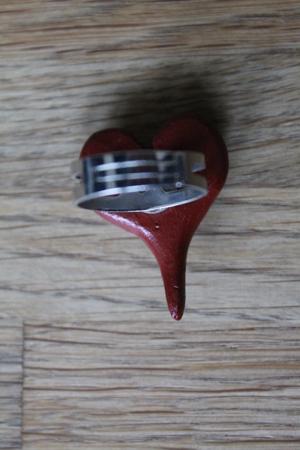 Ring - röd