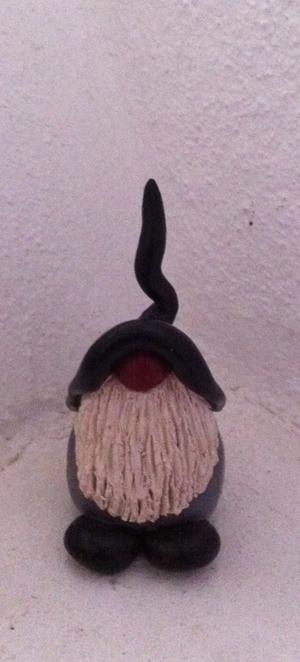 Stor tomtefar -svart